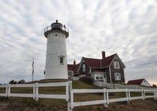 Nobska Lighthouse Early Morning Royalty Free Stock Photo