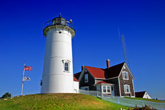 Nobska Lighthouse, USA Stock Photo