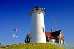 Nobska Lighthouse, USA Stock Photography