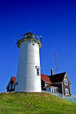 Nobska Lighthouse, USA Royalty Free Stock Images