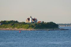 Nobska Lighthouse, Woods Hole, Massachusetts Royalty Free Stock Photos