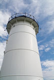 Nobska (Nobsque) Lighthouse. The Nobska Lighthouse in Woods Hole, Cape Cod, Massachusetts Stock Photos