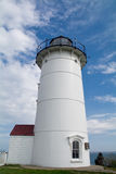Nobska (Nobsque) Lighthouse Royalty Free Stock Photos