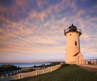 Nobska Point Light Royalty Free Stock Photography