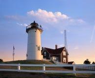 Nobska Point Light Royalty Free Stock Photography