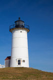 Nobska Point Light is a lighthouse located on the Cape Cod, USA Royalty Free Stock Photography