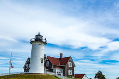 Nobska Point Light Stock Photo