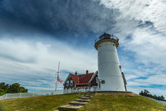 Nobska Point Light Stock Photography