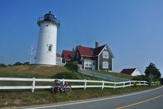 Nobska Point Lighthouse Stock Images