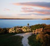 Nobska Punkt, Cape Cod Stockbild