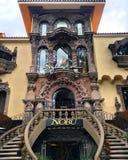 Nobu restaurang i Mexico - stad arkivbild