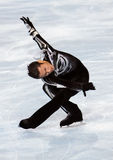 Nobunari ODA (JPN) short program Royalty Free Stock Photography