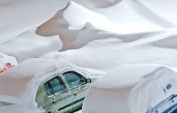 Noc śniegu klęska Obrazy Stock