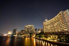 Noc ładna w Bangkok Obrazy Stock