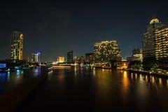 Noc ładna w Bangkok Zdjęcia Stock