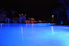 Noc basen Zdjęcie Royalty Free
