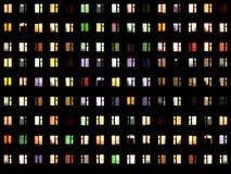 noc bezszwowi tekstury okno ilustracji