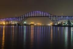 noc bridge Zdjęcie Royalty Free