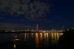 noc bridge Zdjęcie Stock