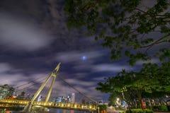 noc bridge Obrazy Royalty Free