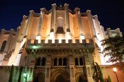 Noc budynek Fotografia Stock