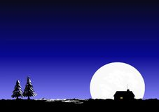 noc cicha Obrazy Stock