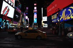 NOC de Nueva York del Times Square fotos de archivo