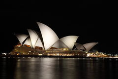 noc domowa opera Sydney Zdjęcie Stock