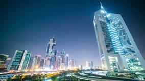 Noc Dubai góruje czasu upływ od uae zbiory