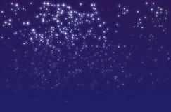 noc gwiaździsta Obraz Royalty Free