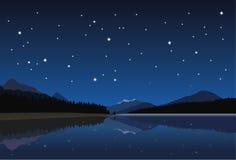noc gwiazdy Zdjęcia Royalty Free