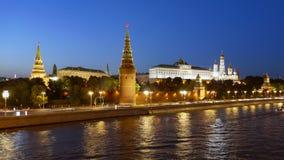 Noc hiper- up?yw Moskwa Kremlin zbiory