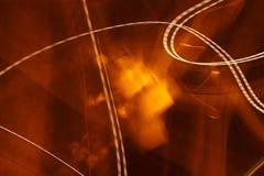 Noc iluminacja abstrakcjonistyczny przypadkowy rysunek Obraz Stock