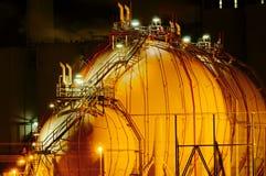 noc instalacji chemicznej obrazy royalty free