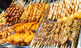 noc jedzenia rynku noc Taiwan Obrazy Stock