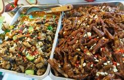 noc jedzenia rynku noc Taiwan Fotografia Royalty Free