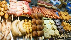 noc jedzenia rynku noc Taiwan Obraz Stock