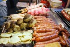 noc jedzenia rynku noc Taiwan Fotografia Stock