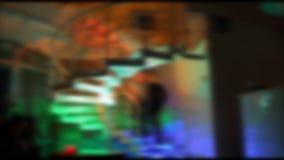 Noc klubu wprowadzenie, typowi strzały świetlicowa kultura zbiory wideo
