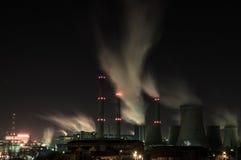 Noc krótkopędu termiczna stacja zdjęcie stock