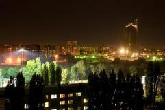 noc miasteczko Obraz Stock