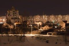 Noc miasto Obraz Stock