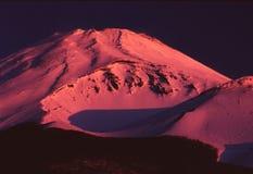 noc mountain Zdjęcie Stock