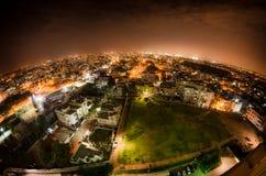 Noc nad Bangalore Zdjęcie Stock