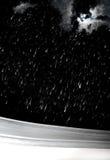 noc opad śniegu Zdjęcia Royalty Free