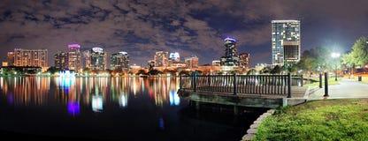 noc Orlando panorama zdjęcia royalty free
