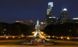 noc Philadelphia Obraz Royalty Free