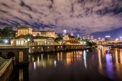 noc Philadelphia zdjęcia royalty free