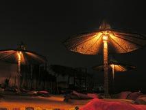 noc plażowa obrazy royalty free