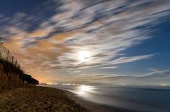 noc plażowa Obrazy Stock